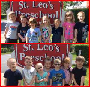 St. Leo preschool students are movin' on up!