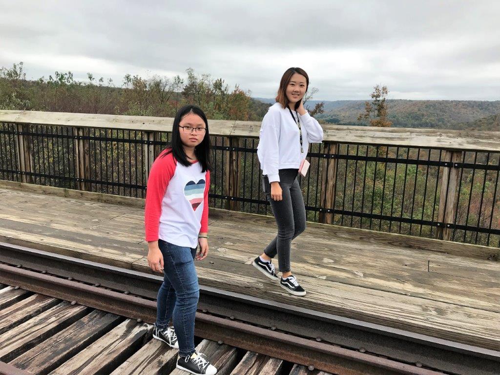 Kinzua Bridge - Ngoc and Cecilia
