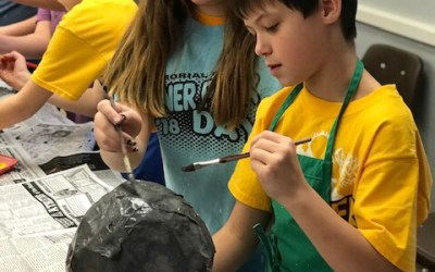 "Fifth grade students ""explore"" our solar system"