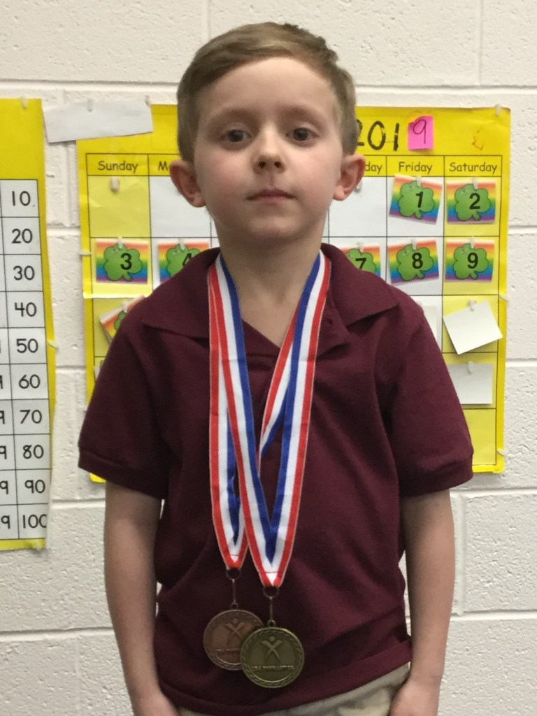 Second grader wins gold at state gymnastics competition