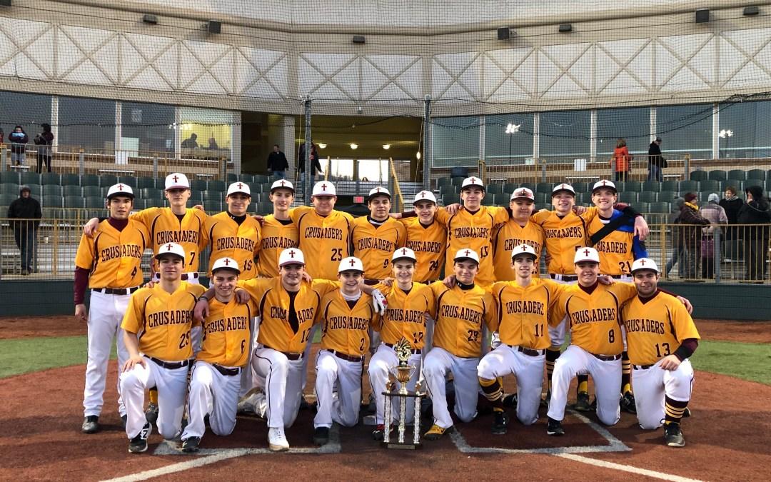 Crusader baseball team finishes in second in season opening tournament