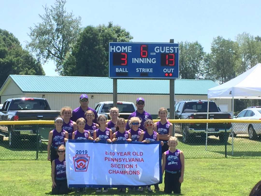 Congratulations St. Marys Minor Little League Softball Team!