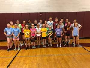 Little Spikers Volleyball Skills Camp