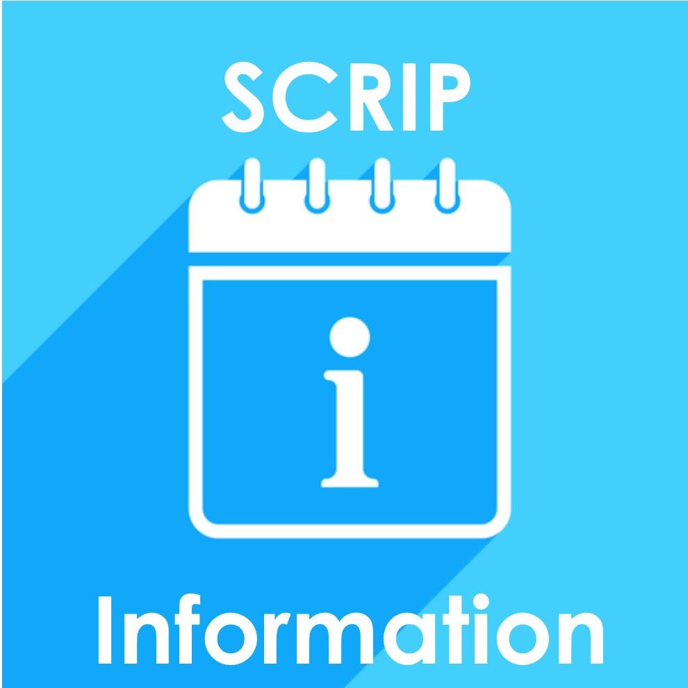 Summer SCRIP Update