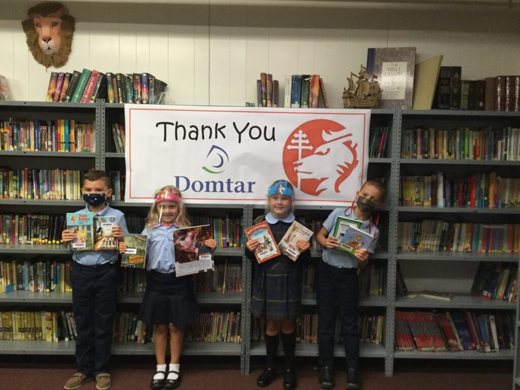 Domtar donation to SMCES & SLS!