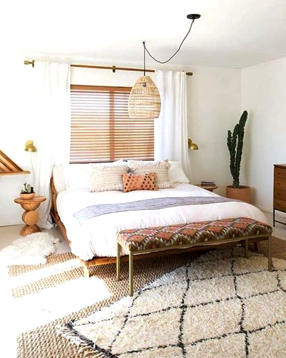 58 Inspiring Master Bedroom Design Ideas | Ecemella on Boho Master Bedroom Ideas  id=32849