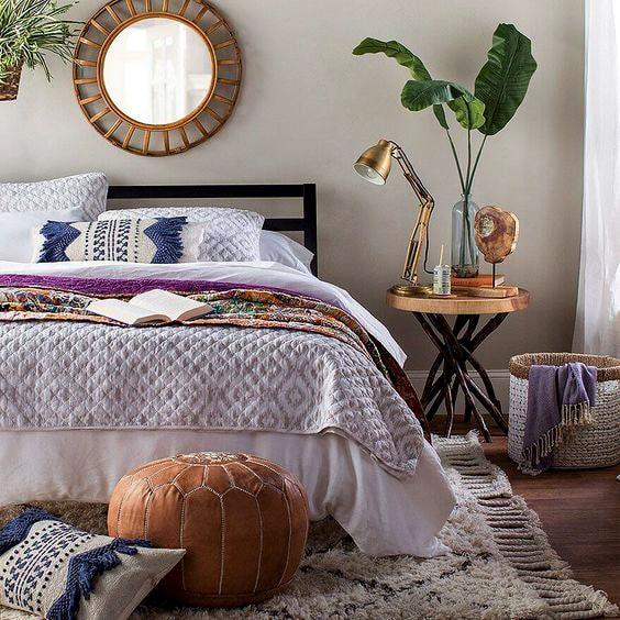 58 Inspiring Master Bedroom Design Ideas | Ecemella on Boho Master Bedroom Ideas  id=65480