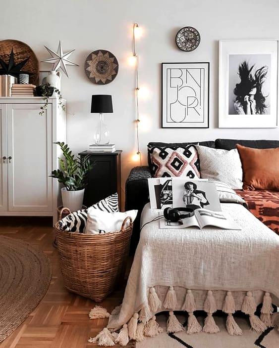 58 Inspiring Master Bedroom Design Ideas | Ecemella on Boho Master Bedroom Ideas  id=21379