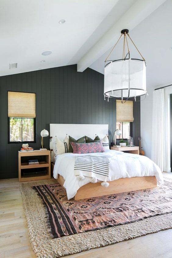 58 Inspiring Master Bedroom Design Ideas | Ecemella on Boho Master Bedroom Ideas  id=76646