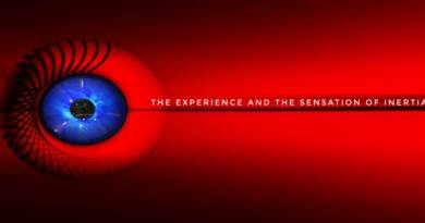 The experience and the sensation of inertia