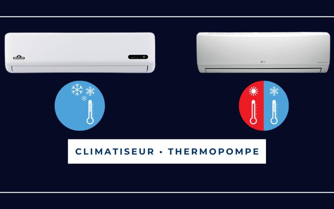 La thermopompe et le climatiseur : comment faire le bon choix.