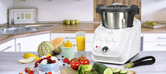 magimix robot culinaire magimix 18591f cs 5200 xl chrome mat