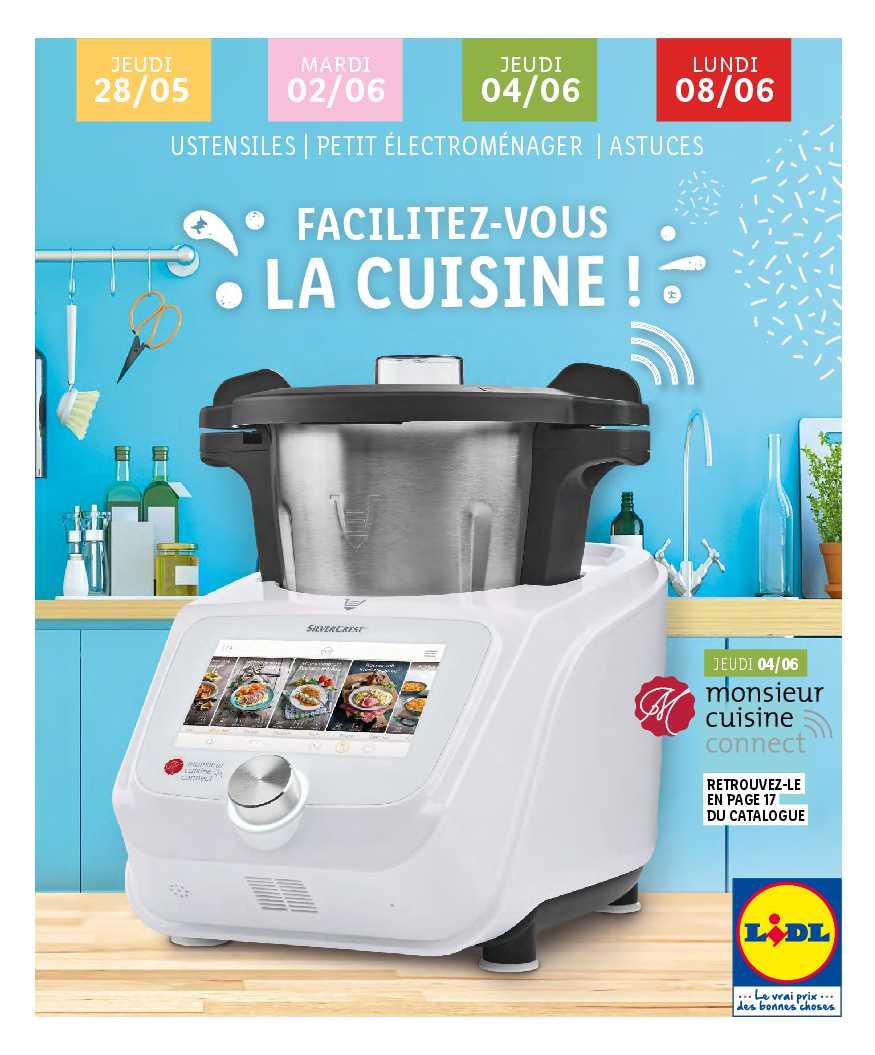 catalogue cuisine lidl 2020
