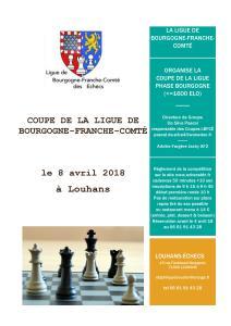 Affiche de la coupe LBFCE