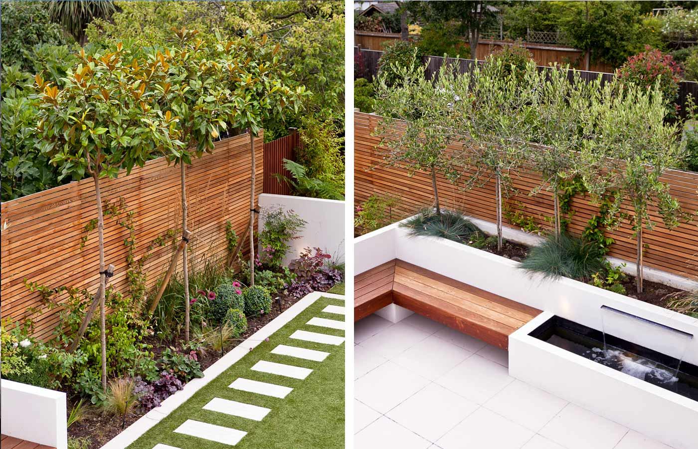 Long Thin Garden Design   Family Garden Design on Long Backyard Landscaping Ideas id=78870