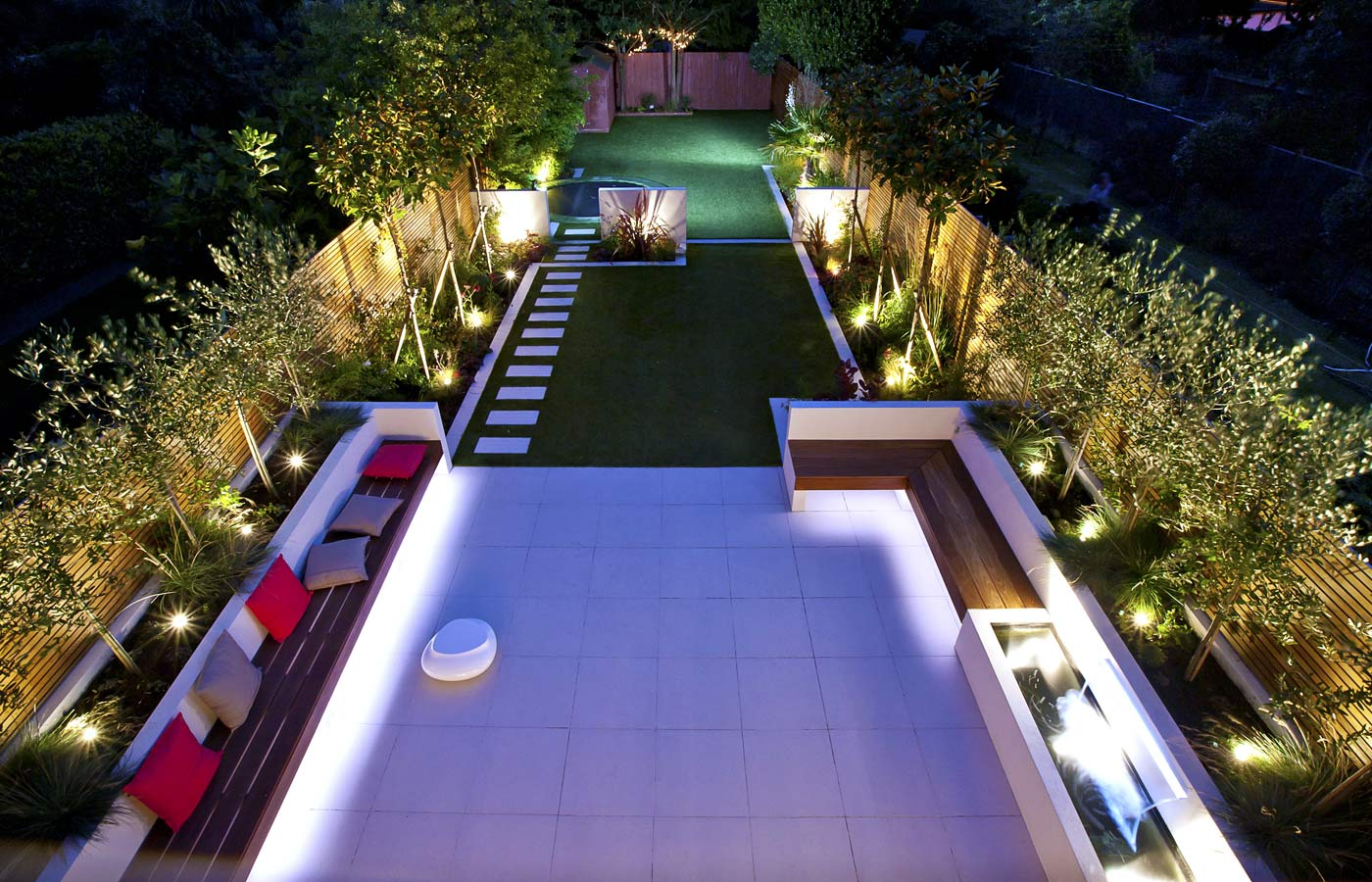 Long Thin Garden Design | Family Garden Design on Long Narrow Backyard Design Ideas id=95034