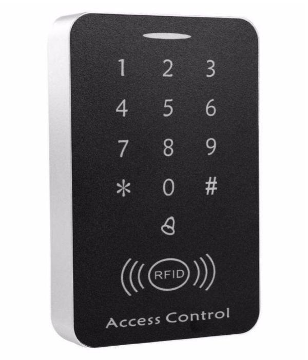 Password Keypad RFID Card Reader Door Access Control Security System