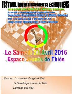 Festival de l'association échecs et maths