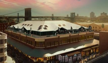 Fulton Market à New-York : site du Championnat du Monde d'échecs 2016