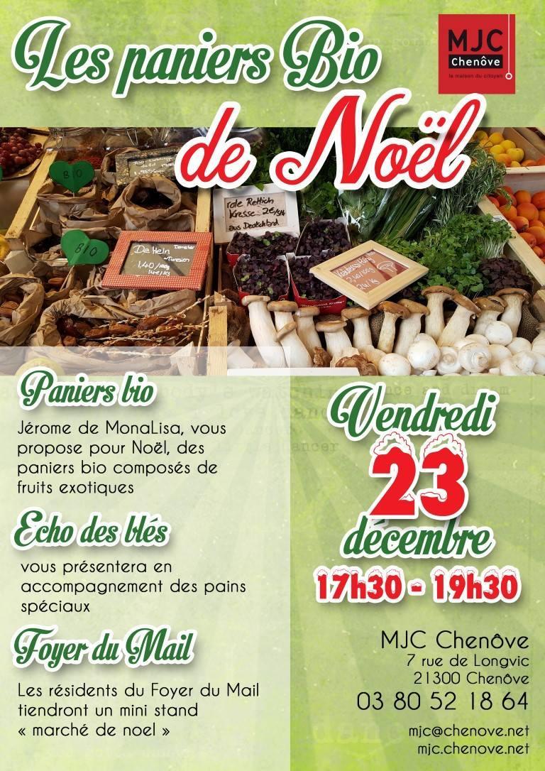 Marché Bio de Noël