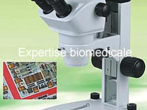 Microscope d'inspection des composants electroniques HS-SNZ-610