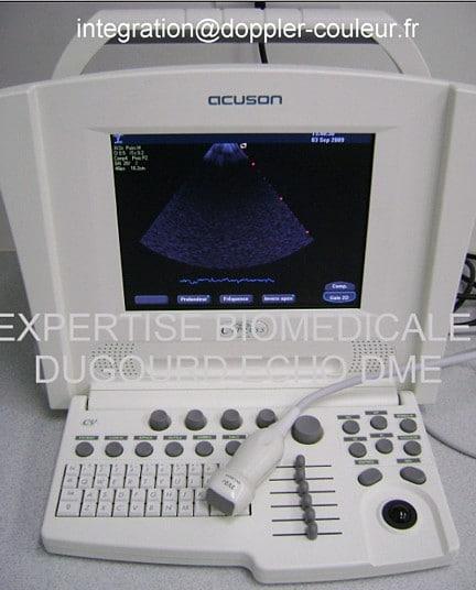 Échographe Acuson Cypress imagerie phase array