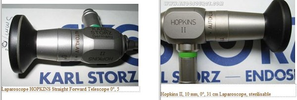 Endoscopes Rigides