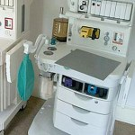 materiel medical occasion vue d'un appareil d' anesthesie