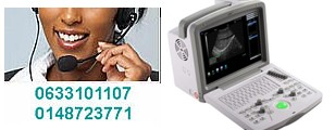 Échographie - Echographe portable - matériel medical