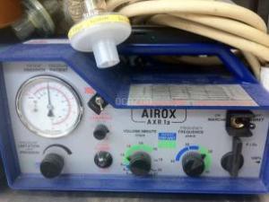 vue de face du respirateur Airox