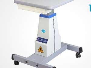 table ophtalmologique à montée reglable vue angulaire