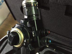 Gastroscope Gif type P2 vue de la sortie optique