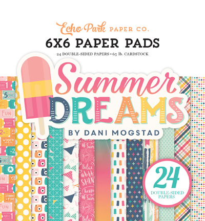 DR126023 Summer Dreams 6x6 Paper Pad