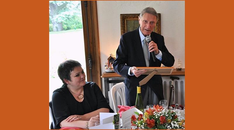 Remise du prix Maurice Allais à Guy Berthault