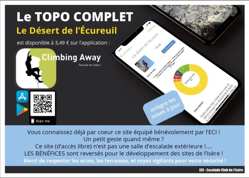 topo numerique ClimbingAway