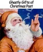 Smoking Vintage Santa