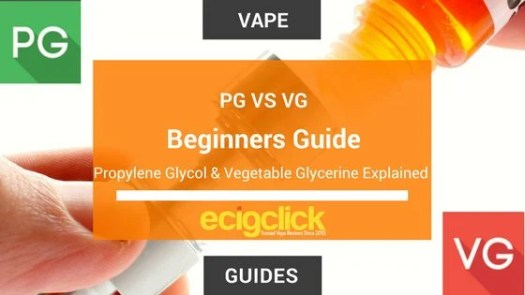 PG Vs VG in Vaping - What's The Difference