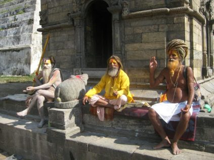 Sadus in Pashupatinath