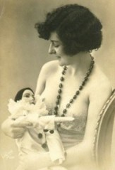 Woman-with-Clown-Doll-204x300