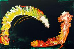 Abstract Painting, Worm Wars, Attack