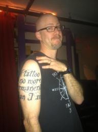 David Olimpio's Bad Ass Tattoo