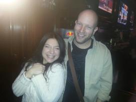 Gabriela Romeri and Kyle Noe