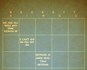 Beckett Bingo