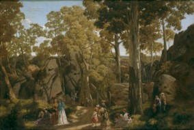http://commons.wikimedia.org/wiki/File:William_Ford_Hanging_Rock.jpg