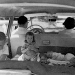 Photo of children in station wagon