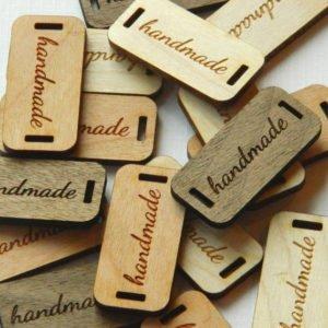 targhette in legno