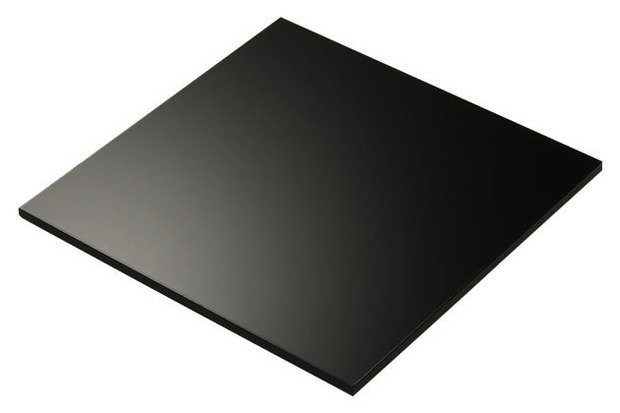 plexiglass nero taglio laser