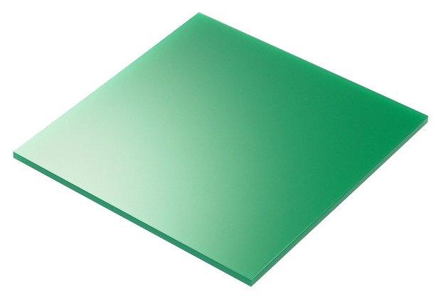 plexiglass verde taglio laser