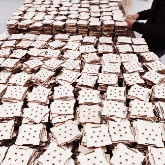 scatole in legno taglio laser