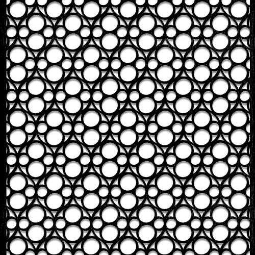 pattern 20 pannello divisorio taglio laser